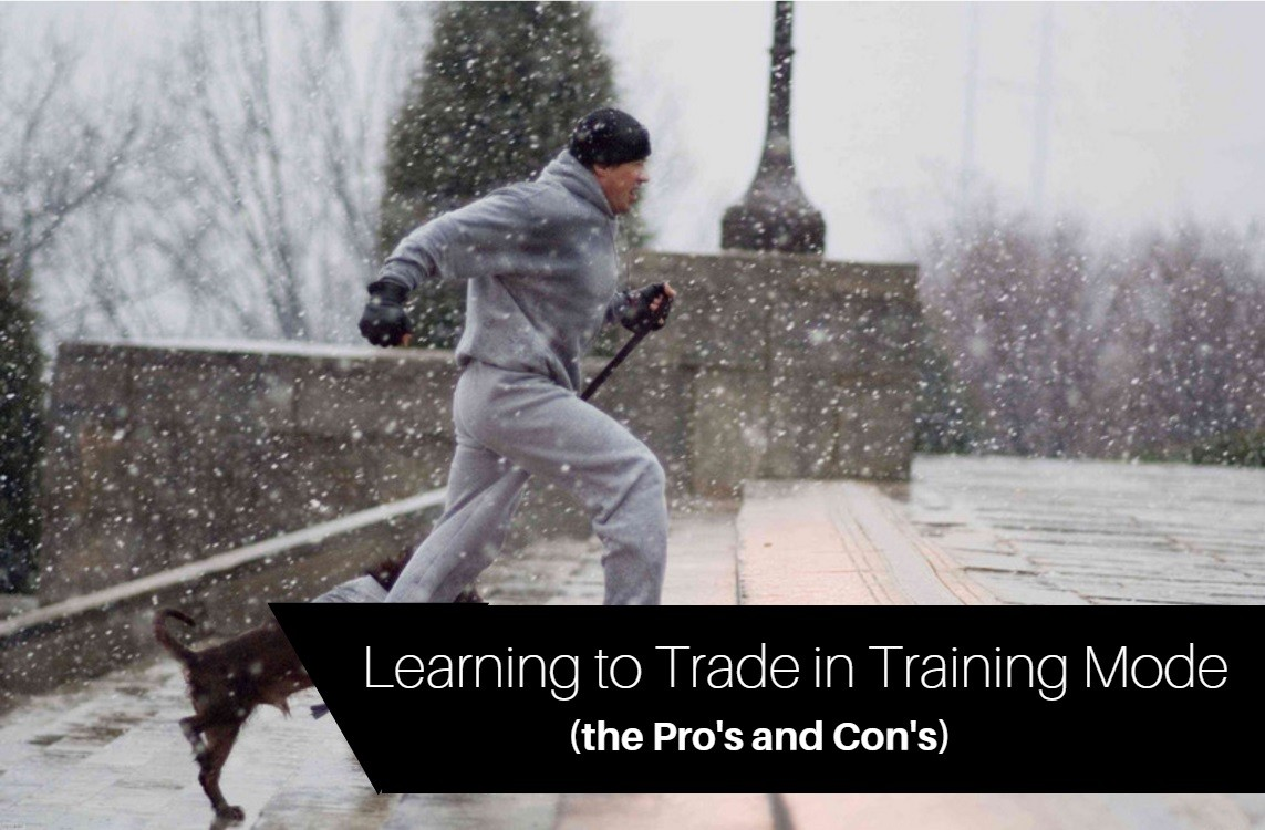 learn to trade Betfair in training mode
