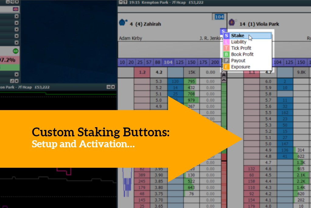 Staking Buttons