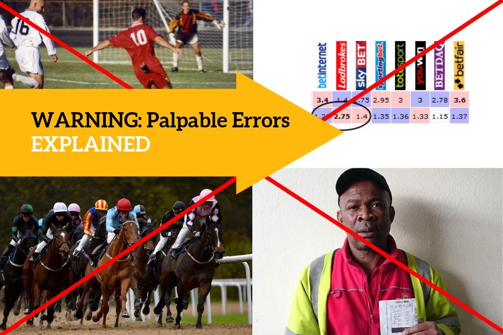 Palpable Error Bet