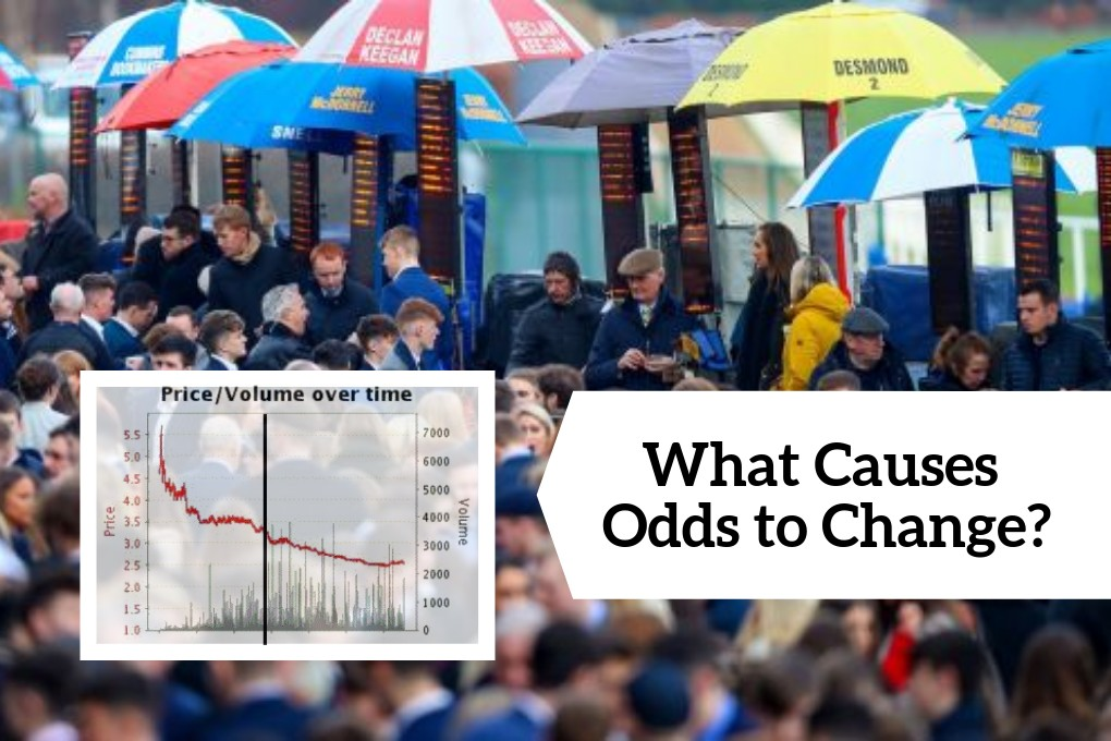 the reason odds change