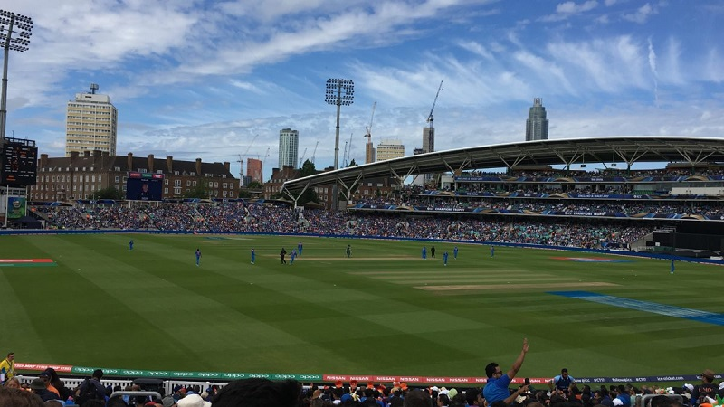 Cricket Match view from crowd
