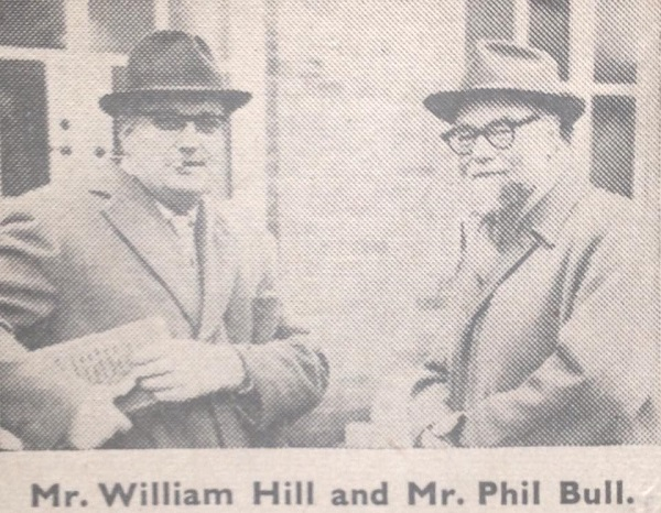 William Hill and Phil Bull News Paper