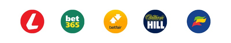 multiple betting logos