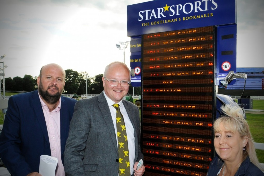 Bookmaker Horse Racing Track
