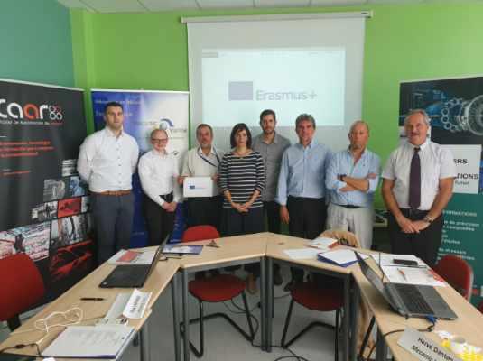 Comienza el proyecto europeo Erasmus+ 3Tindustry4.0