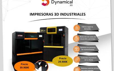 Oferta impresora 3D industrial de Dynamical 3D