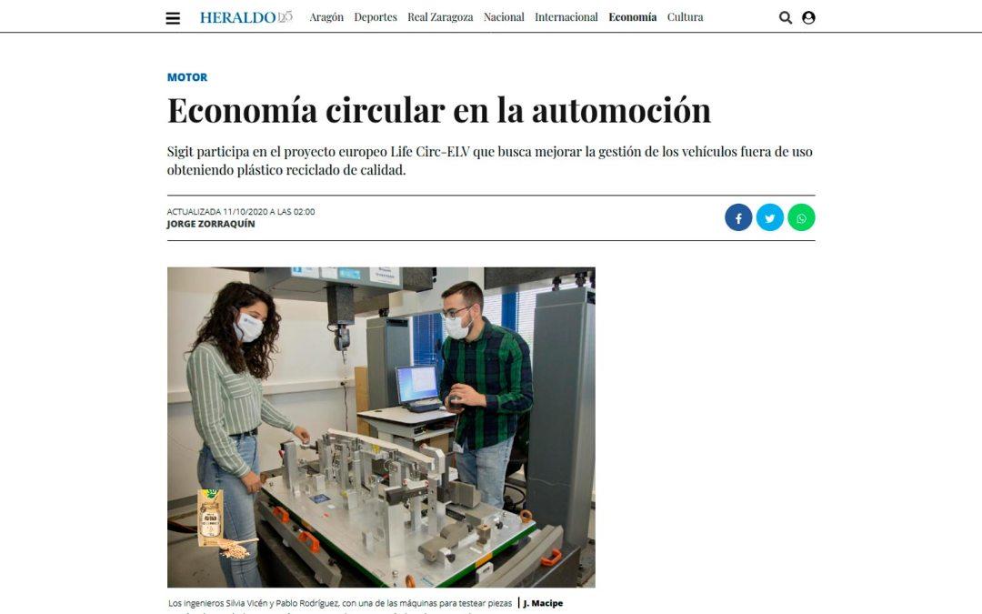 Economía circular en la automoción