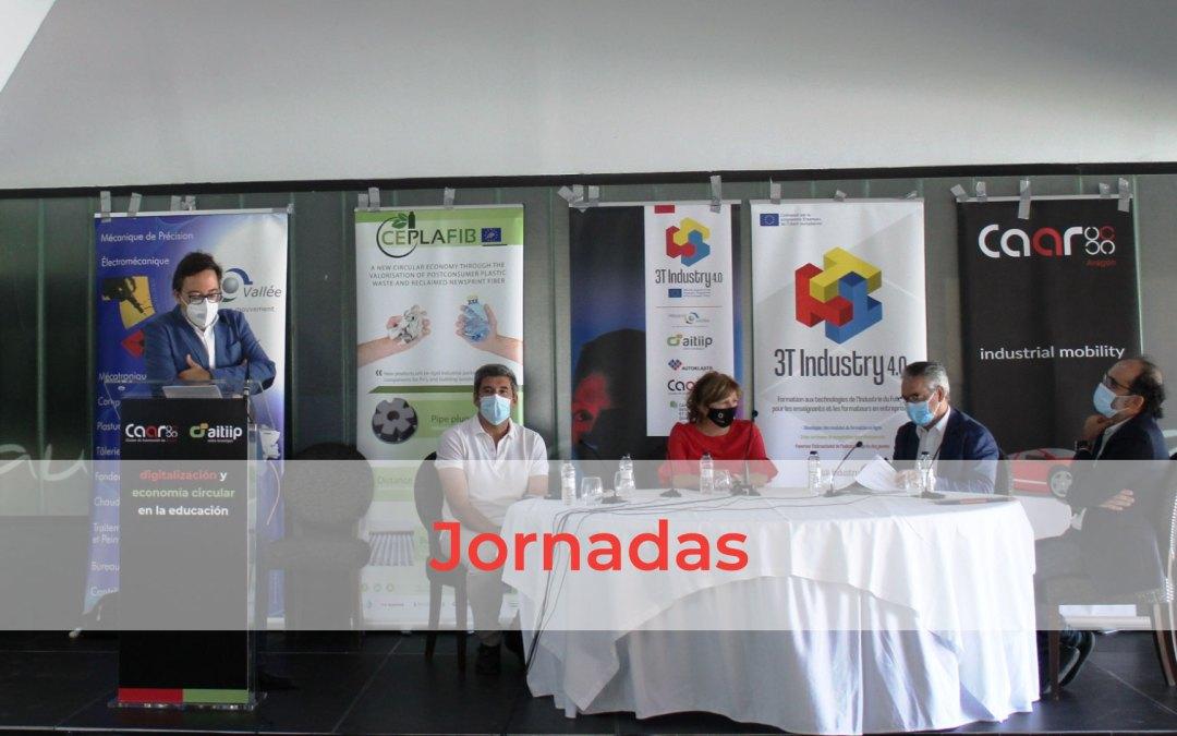Aragón defiende la integración de las competencias digitales y la sostenibilidad en la formación del talento del futuro