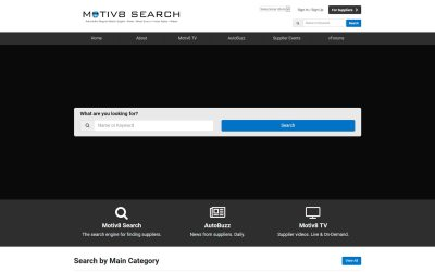 Marketplace virtual Motiv8 Search