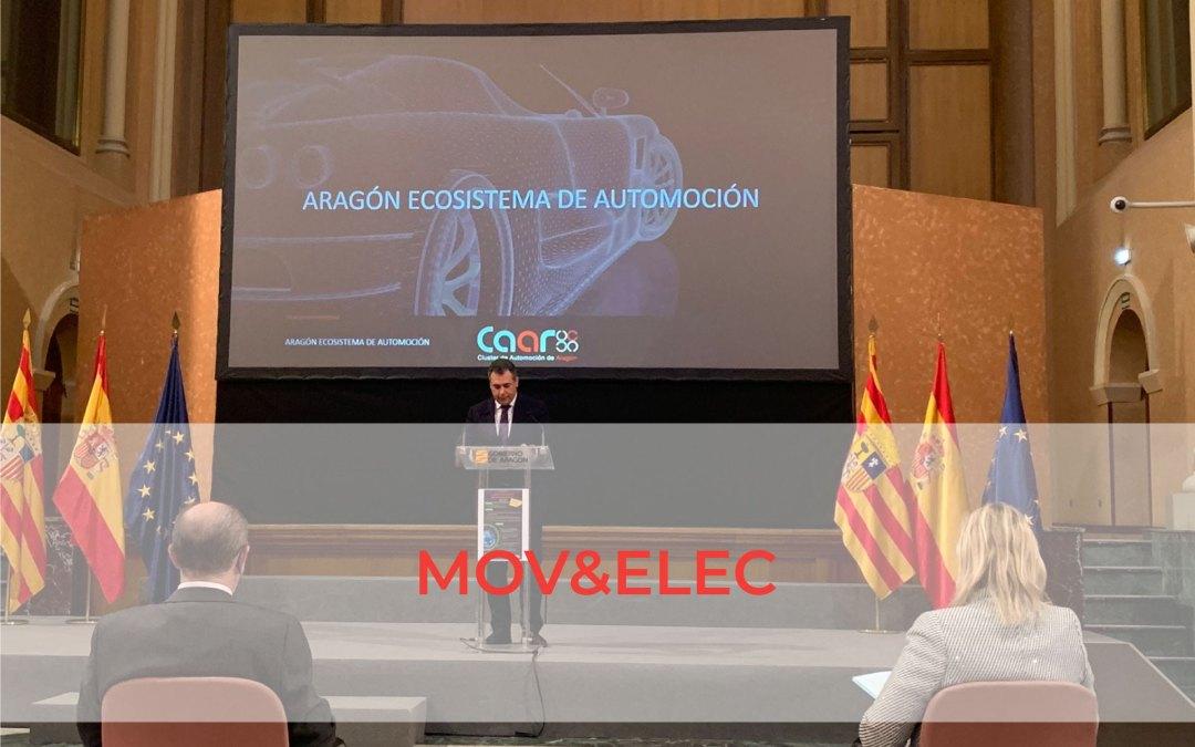 El CAAR presenta MOV&ELEC, un proyecto para que Aragón lidere la electromovilidad sostenible con una inversión global de 1.075 millones de euros