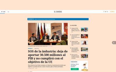 SOS de la industria: deja de aportar 30.500 millones al PIB y no cumplirá con el objetivo de la UE