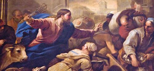 Image result for expulsión de los mercaderes del templo