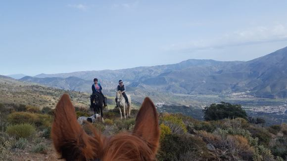 horse riding holiday spain white villages