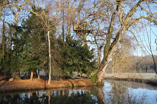 Cabane dans un arbre Cascade