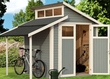 Cabanon De Jardin Avec Plancher | Fabriquer Une Cabane En Bois Facile