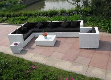 Salon De Jardin En Palette Vente | Salon De Jardin D Angle En ...
