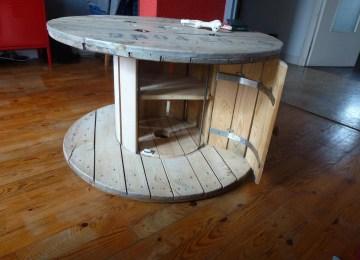 Table De Jardin Avec Touret | Tuto Mosaique Finest Mosaique De Photo ...