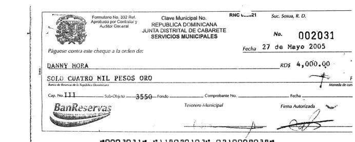 3 cheque danny mora 04-052