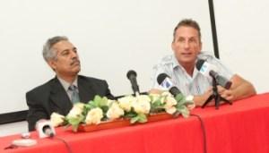 Rueda de prensa del 21 de mayo 2013 en relacion a la querella interpuesta por la DPCA a Canoa