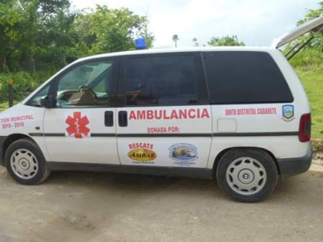 Ambulancia de Cabarete desaparecida