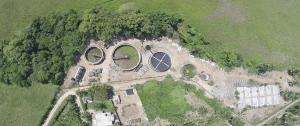 Planta de tratamiento de aguas negras de Cabarete nunca terminada