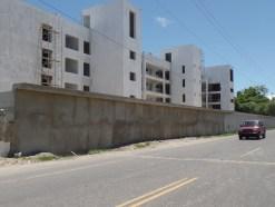 Pared del proyecto Punta Goleta