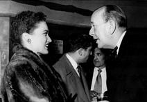 Julie with Noël Coward