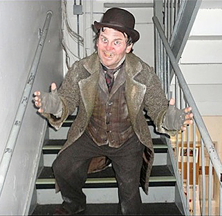 Robert as Durdles in The Mystery of Edwin Drood