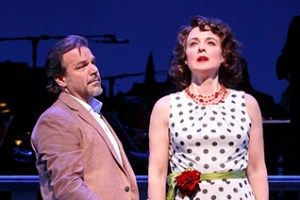 Richard Troxell and Melissa Errico  Photo: Joan Marcus