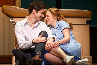 Drew Gehling & Jessie Mueller Photo: Joan Marcus