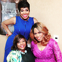 Clockwise from top: Sheryl Lee Ralph, Jennifer Holiday, Loretta Divine. Photo: Courtesy of Ken Werther Publicity