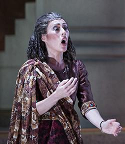 Melinda as Aida