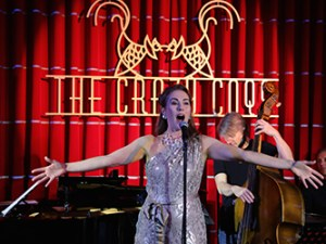 Melinda at London's The Crazy Coqs
