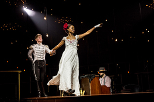 Lucas Steele & Denee Benton Photo: Chad Batka.