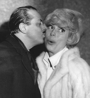 David Merrick & Carol Channing