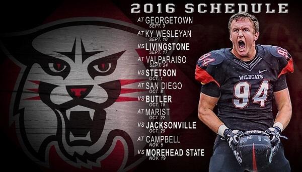davidson schedule