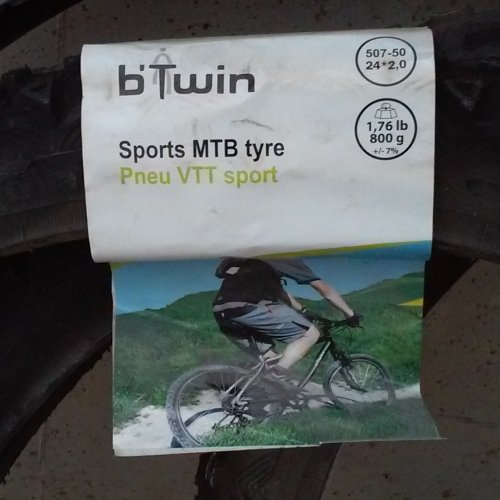 Pneumàtic BTT B'TWIN 507 50