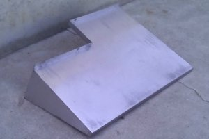 Empostada inox 82x59x23cm