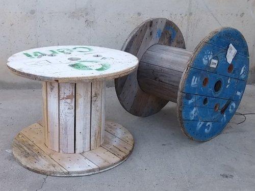 Bobina de fusta ø80x60cm d'ocasió a cabauoportunitats.com