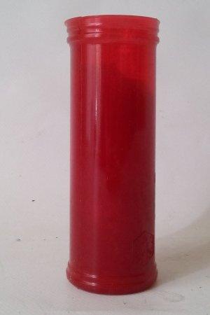 Espelma vermella Tots Sants