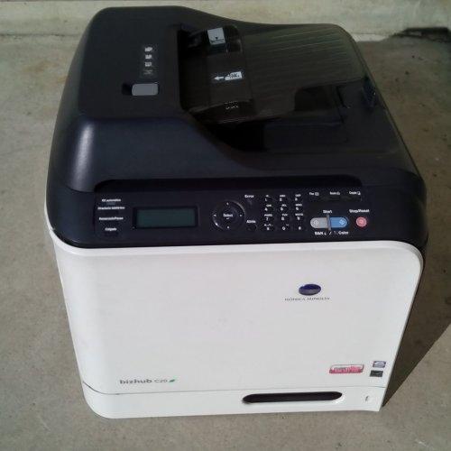 Impressora multifunció KONICA MINOLTA BIZHUB C20 a cabauoportunitats.com