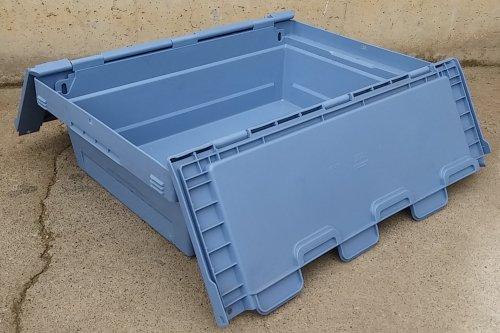 Caixa d'emmagatzematge de 30 litres amb tapes abatibles d'ocasió a cabauoportunitats.com