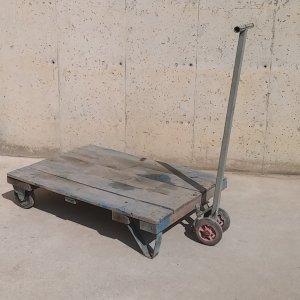 Carro de fusta d'ocasió per a magatzem a cabauoportunitats.com