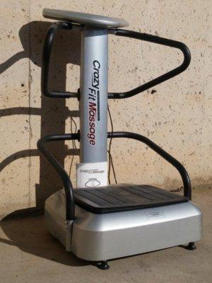Máquina masajes CRAZY FIT de ocasión en cabauoportunitats.com