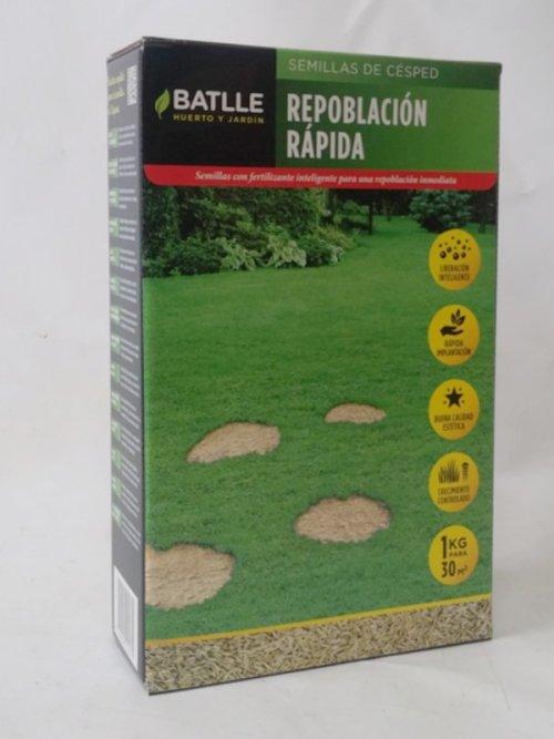 Llavors gespa BATLLE repoblació ràpida 1kg d'ocasió a cabauoportunitats.com Balaguer - Lleida - Catalunya