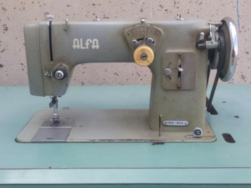 Máquina de coser ALFA 105-500 - Cabau Oportunitats