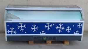 Congelador expositor NOVUM ARAN 805 L d'ocasió a cabauoportunitats.com Balaguer - Lleida - Catalunya