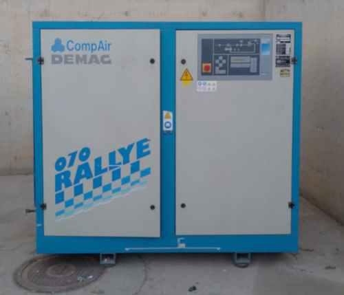 Compressor de cargol MANSESMANN DEMAG RALLYE 070 de segona mà a cabauoportunitats.com Balaguer - Lleida - Catalunya