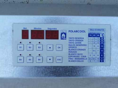 Arrefredador d'ampolles POLARCOOL M 6 de segona mà a cabauoportunitats.com Balaguer - Lleida - Catalunya