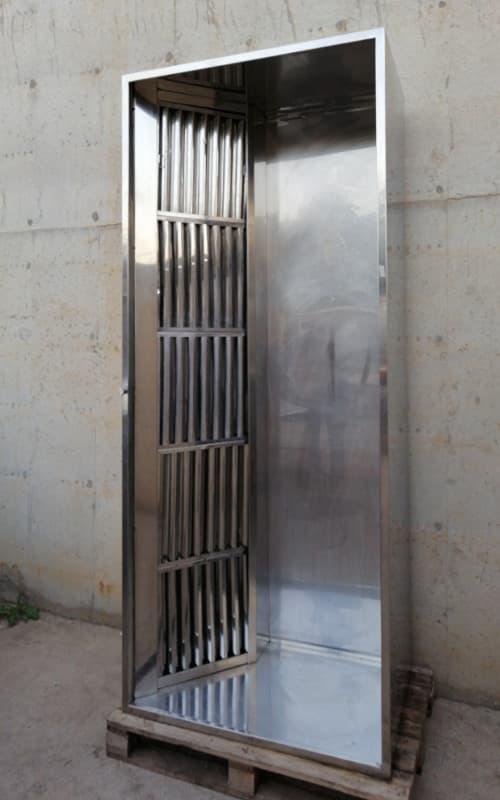 Campana d'acer inoxidable per a cuina d'hostaleria de segona mà a cabauoportunitats.com Balaguer - Lleida - Catalunya